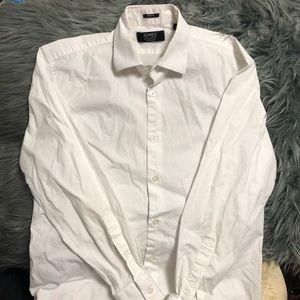 Jones New York signature white blouse